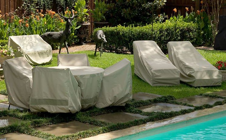 Чехлы для садовой мебели